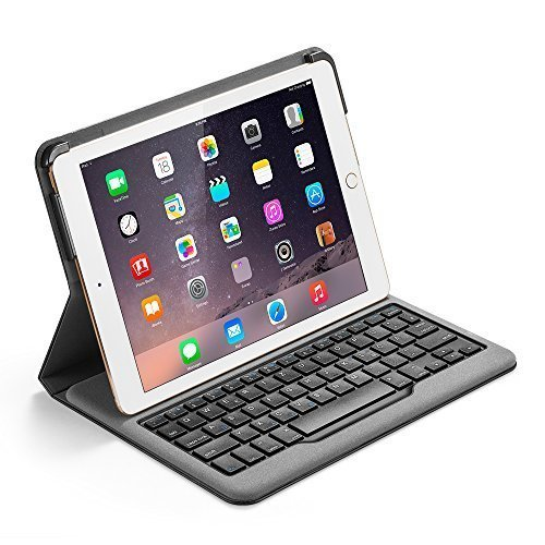 Anker Bluetooth Folio Tastatur Case Hülle für iPad Air 2 — Smart Case mit Auto Wake / Sleep Funktion - 4