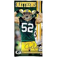 Wincraft Clay Matthews Green Bay Packers NFL Serviette de plage