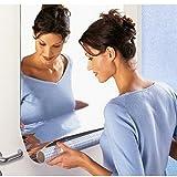 Y56 Spiegel Wandaufkleber Rechteck selbstklebende Zimmer Dekor Stick auf Kunst Wand Aufkleber selbstklebende Dekor (50 x 100 cm)