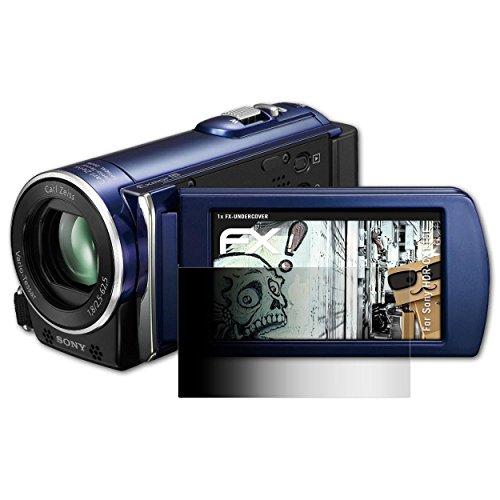 atFoliX Filtro de Privacidad para Sony HDR-CX115E Película de Privacidad - FX-Undercover 4 Vías privacidad Lámina Protectora de Pantalla