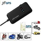 Hangang GPS Tracker Motorrad, Auto LKW Motorrad Fahrzeug GPS Locator Echtzeit GPS Ortung Mini GSM GPRS GPS Logger mit kostenlosem