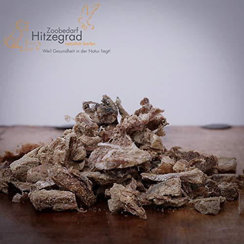 Hitzegrad® Straußenfleisch gefriergetrocknet, 80 g - Kauartikel für ernährungssensible Hunde in Premiumqualität