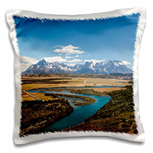 Danita Delimont - Mountains - Torres del Paine NP, Villa Serrano, Chile - 16x16 inch Pillow Case (pc_208403_1)