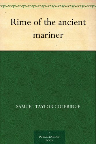 free kindle book Rime of the ancient mariner