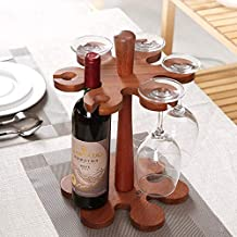 Wine Holder Wine Rack Wine Shelf Home Chrome Botella De Vino Y Vasos Holder Shelving Unit