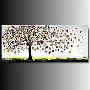 Art mmb albero a14 multicolor 1 quadri moderni for Amazon quadri