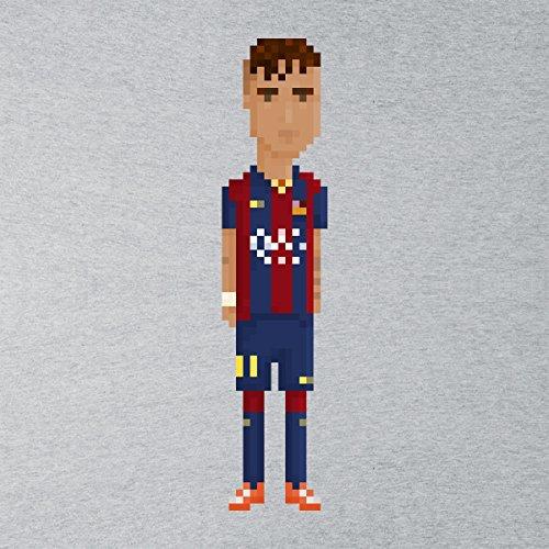 Pixel Neymar da Silva Santos Junior Men's Vest Heather Grey