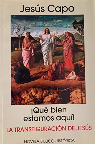 La transfiguración del Señor: ¡Qué bien estamos aquí! (Evangelio (Novelado) nº 25) por Jesús Capo