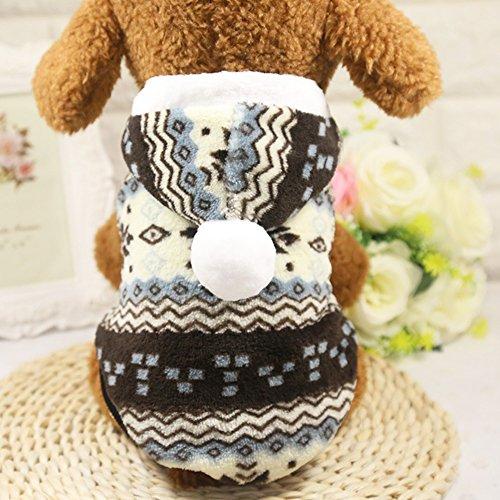 Cute Puppy Coat, woopower Hund Weihnachten Snow Coral Hoodie Warme Kleidung Pet ()