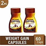 #10: Accumass Weight Gain Capsules 60Caps (Pack of 2) - Ayurvedic