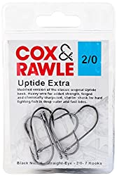 Cox & Rawle Up Tide Extra Hook - Black, Size 20