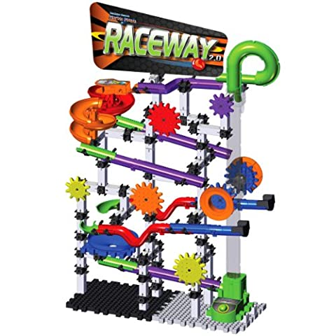 Learning Journey Racing Series Techno Gears Marble Mania Raceway 2.0 Building Set