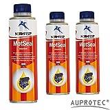Auprotec® Normfest Motordicht Mot Seal Motor Dichtmittel Motordichtung Dichtstoff Öl Zusatz (3 Dosen)