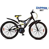 Hero Sprint ZAPPER 26T/24T Single Speed Dual Suspension Bicycle