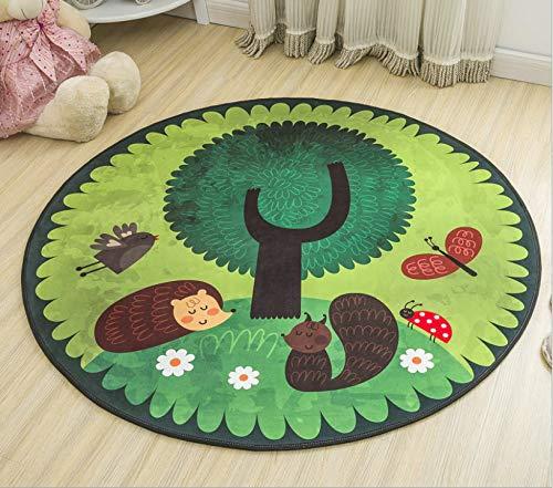 juan Teppich Bodenmatte Kindergarten Kissen Hängenden Korb Stuhl Computer Stuhl Kissen Nacht Teppich Cartoon Kinderspiel Zelt Runde 140 cm X 140 cm