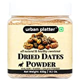 Urban Platter Dried Date Powder is a Natural Antioxidant, Natural Sweetener, Rich source of Iron, Calcium & Vitamins. Dry Date Powder is Low in Fat, Cholestrol-free, Low Sodium & High potassium content.Our Date Powder is made from Pure Dried ...