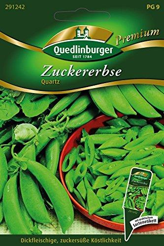 Zuckererbsen Quartz von Quedlinburger Saatgut