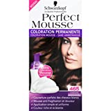 Schwarzkopf - Perfect Mousse - Châtain-chocolat 465, coloration permanente - La boîte de 92,5ml - (for multi-item order extra postage cost will be reimbursed)