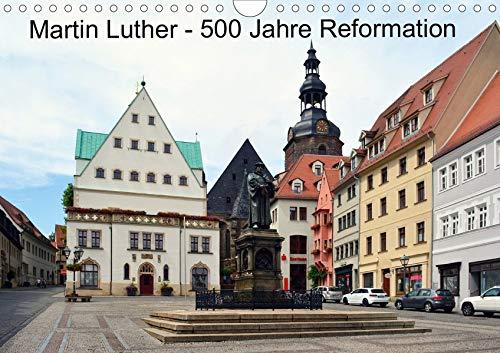 Martin Luther - 500 Jahre Reformation (Wandkalender 2020 DIN A4 quer): 500. Jahrestag des Thesenanschlags (Monatskalender, 14 Seiten ) (CALVENDO Glaube)
