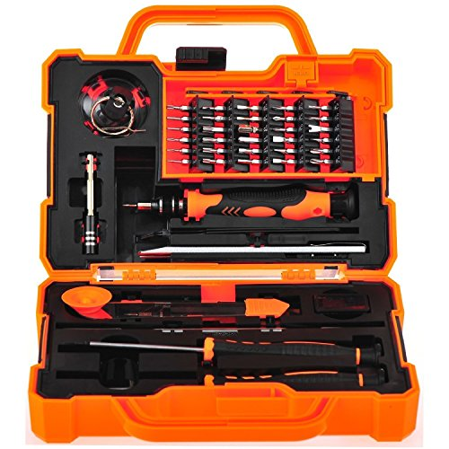 Preisvergleich Produktbild 45 in 1 Precision Screwdriver Set Repair Maintenance Kit Tools for iPhone, iPad, Samsung, and other Smartphone Tablet Computer Electronic Devices
