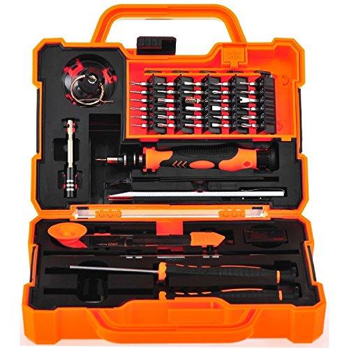 Preisvergleich Produktbild 45in 1Präzisions-Schraubendreher-Set Repair Pflege Kit Tools für iPhone, iPad, Samsung und andere Smartphone Tablet Computer elektronischer Geräte