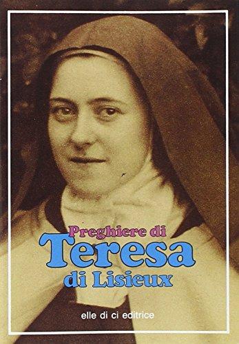Preghiere di Teresa di Lisieux