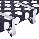 eBoot 12 Packs Tablecloth Clips Stainless Steel Table Cover Clamps Table Cloth Holders (Silver)