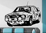 Streetwall Wandtattoo Audi Sport Quattro 1985 Größe S
