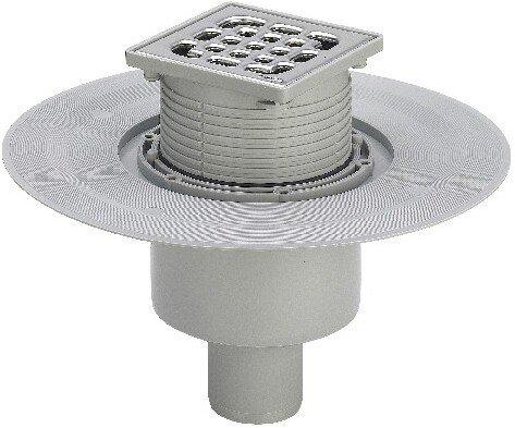Viega 556914 Badablauf Advantix Modell 4926 Ablaufleistung DN 50 - 0.9 L/s