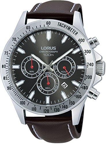 Lorus Gents Watch XL Analogue Quartz RT381DX-9 Classic Leather