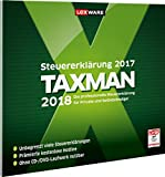 Lexware Taxman 2018|in frustfreier Verpackung|�bersichtliche Steuererkl�rungssoftware f�r Arbeitnehmer, Familien, Studenten und im Ausland Besch�ftigte|Kompatibel mit Windows 7 oder aktueller medium image