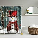 Duschvorhang Weihnachten