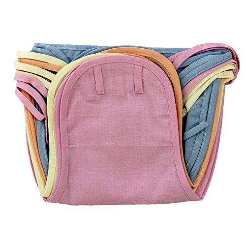 EIO Washable Reusable Cotton Diaper/Langot Nappies (Multicolour, 0-3Months) - Pack of 12