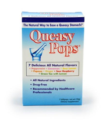y Pops, Natural Ginger, 7 Lollipops, 10 g Each ()