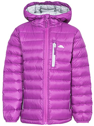 Trespass Kids Morley Compact Pack Away Warm Waterproof Winter/Rain Outdoor Jacket with Hood