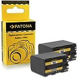 2x Batterie BP-970G pour Canon Vistura GL1 | GL2 | GL-1 | XH A1 | XH A1S | XH G1 | XH G1S | XL H1 | XL H1A | XL H1S | XL1S | XL2 | XM1 | XM2 | XV1 | XV2 | C2 | DM-MV1 | DM-MV10 | E1 | E2 | E30 |FV1 | G-10Hi | G30Hi | G35Hi | G45Hi | G-1000 | G-1500 | ES-50 | ES-60 Hi8 | ES-65 Hi8 | ES-75 Hi8 | ES-300V et bien plus encore…