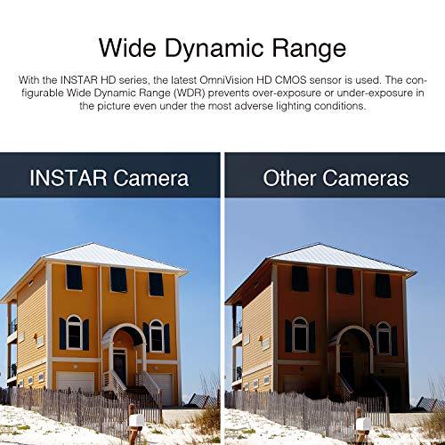 INSTAR IN-5907HD Wlan IP Kamera  – HD Sicherheitskamera für Außen - 4