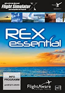 Flight Simulator X - REX Essential Plus [import allemand]