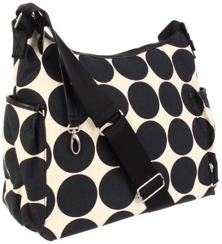 oioi-ebony-desert-dot-printed-canvas-hobo-baby-changing-bag-with-black-lining-and-accessories