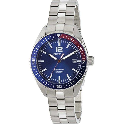 Orologio Unisex Acciaio Midway Blu Breil