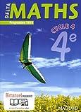 Delta maths 4e cycle 4 - Nouveau programme 2016