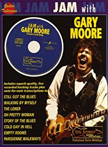 Jam With Gary Moore. Partitions, CD pour Tablature Guitare