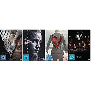 Vikings Staffel 1-4.1 (1+2+3+4.1) / [DVD Set]