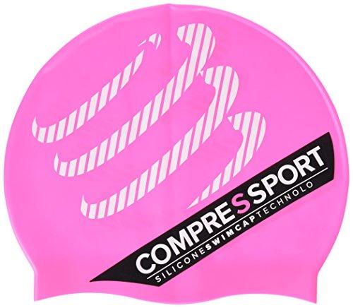 Compressport GNPCS - Gorro de natación unisex, color rosa, talla única