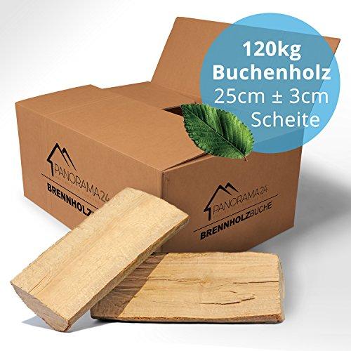 *120 kg Brennholz Kaminholz Feuerholz reine Buche ofenfertig kammergetrocknet in 25cm*