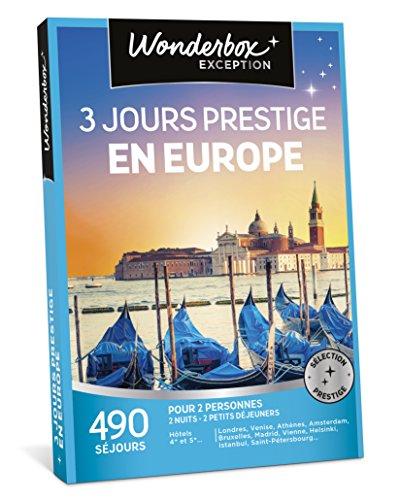 WONDERBOX - Coffret cadeau - 3 JOURS PRESTIGE EN EUROPE