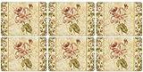 Pimpernel Antique Rose Leinen Tischsets 30.5cm Durch 23cm (Satz von 6)