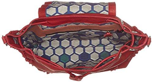 Liebeskind Berlin Damen Sakaif7 Double Rucksackhandtaschen, Einheitsgröße Rot (blood red)
