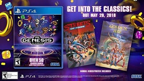 SEGA Genesis / Mega Drive Classics PS4 US Version (Sonic The Hedgehog 2 Xbox)