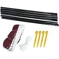 Badminton Set: Netz, Pfosten, Heringe, Leinen BADNET Spokey